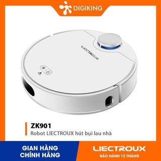 Robot LIECTROUX hút bụi lau nhà ZK901 công nghệ Laser hiện đại - Mới 100% chính hãng - bảo hành 12 tháng
