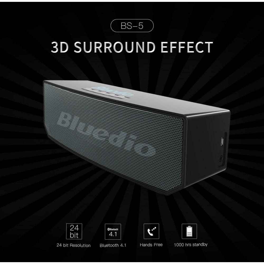 Loa Bluetooth Bluedio Bs-5/ Loa Bluetooth Chính Hãng