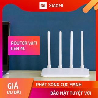 Bộ Phát Wifi Xiaomi Router Gen 4C, Router Xiaomi Miwifi 4C, bộ thu phát sóng wifi tốc độ cao 300Mbps R4CM