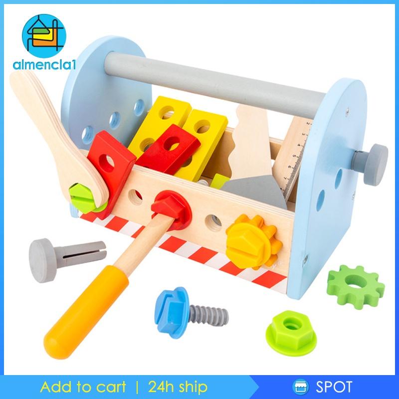 1 đồ chơi trẻ em Dụng Cụ Sửa Chữa Bằng Gỗ Cho Bé