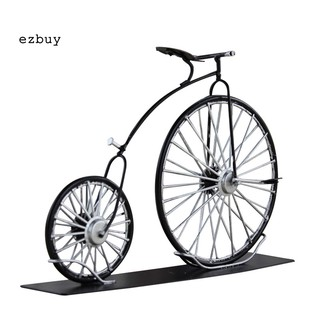 [EZBY]Diecast Iron Big Wheel Bicycle Replica Model Toy Table Decor Collectable Gift