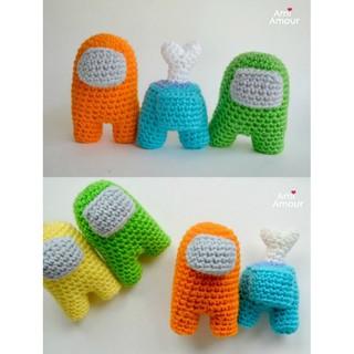 Móc Khóa Handmade Among Us bằng len