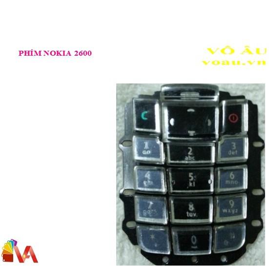 PHÍM NOKIA 2600 - 23046457 , 1558145379 , 322_1558145379 , 40000 , PHIM-NOKIA-2600-322_1558145379 , shopee.vn , PHÍM NOKIA 2600