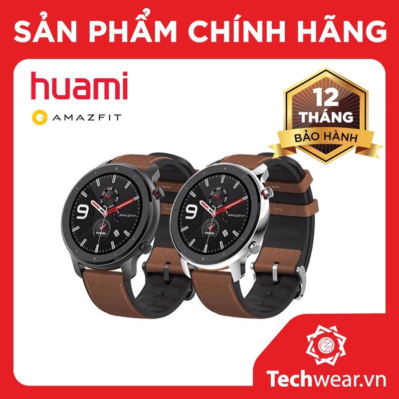 Đồng hồ thông minh Xiaomi Huami Amazfit GTR 47mm - Phiên bản QUỐC TẾ
