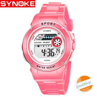 Đồng hồ trẻ em Synoke 9368 bé trai bé gái thể thao điện tử dây cao su