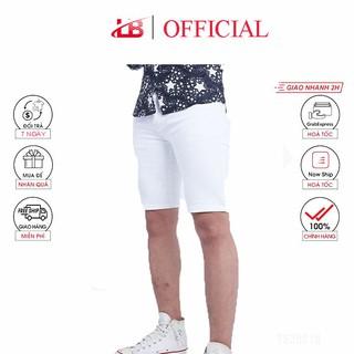 Quần short jean nam co giãn, dễ phối đồ, trẻ trung năng động,2 màu trắng đen trơn, quần jean Shopnguyenhan
