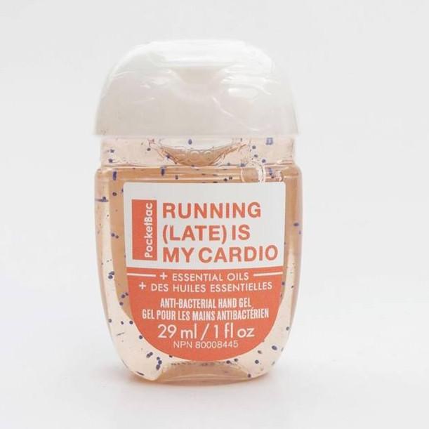 Rửa tay khô Running (Late) is my cardio - Bath and Body Works (29ml)