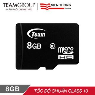 Thẻ nhớ microSDHC Team 8GB Class 4 / Class 10 - Hãng phân phối chính thức