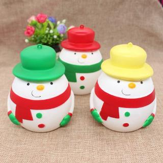 Slow Rebound Simulation Big Belly Snowman Toy PU Decompression Toy Christmas Series Gift