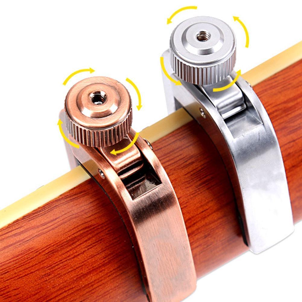 Sound Adjust Guitar Capo Professional Universal Portable With Adjustment Knob Quick Change Electric Acoustic Durable