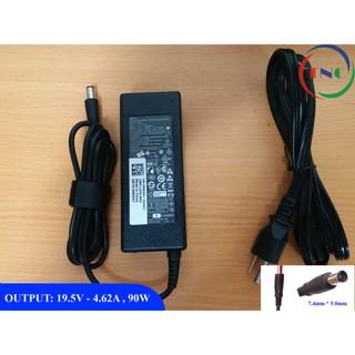 Sạc Laptop Dell 19.5V 4.62A (90w) Chân Kim To Chính Hãng E6420 E6520 3442 3443 3543 (Adapter Dell 19.5V – 4.62A 90w)