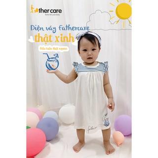 Váy Tay Hến FatherCare - In Hình Thỏ FC658 9M-12M-18M-24M thumbnail