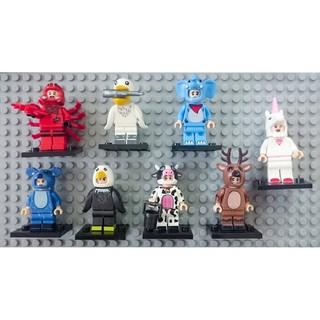 Nhân vật Lego minifigures – Chủ đề động vật