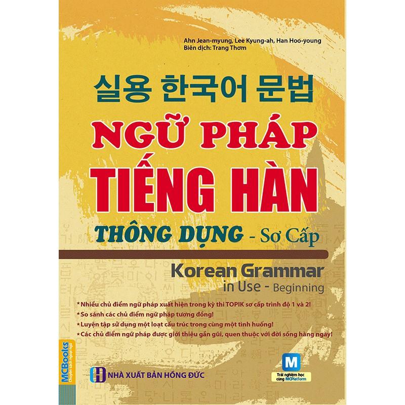 Sách - Ngữ pháp tiếng Hàn thông dụng (sơ cấp) – Korean Grammar in use