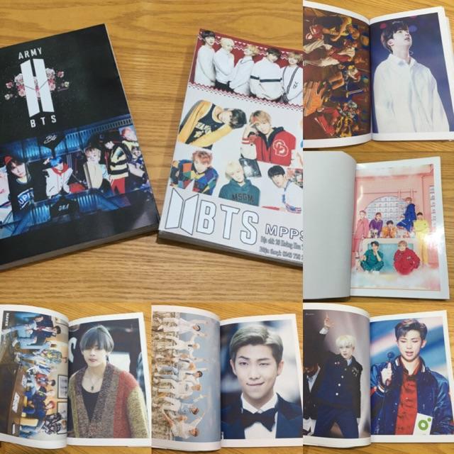Photobook ảnh BTS