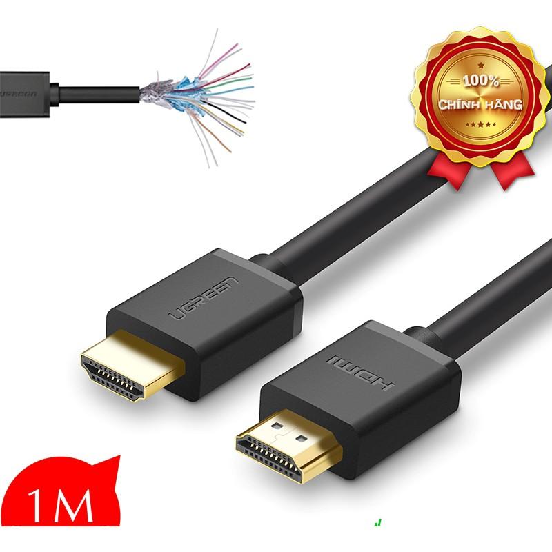 Cáp HDMI 1M Ugreen 10106 hỗ trợ 3D, 4K