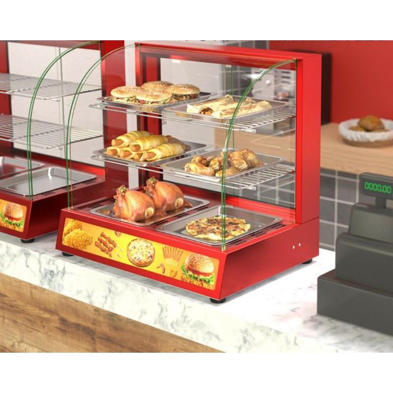 Tủ trưng bày bánh nóng 2p