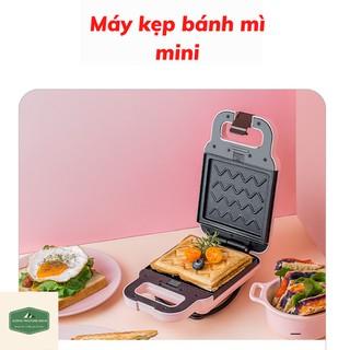 Máy Nướng Bánh Mỳ-Máy Kẹp Nướng Bánh Mì Sandwich - Waffle -Bánh Quế - Hotdog -Làm Bữa Sáng Cho Gia Đình Vô Cùng Tiện Lợi thumbnail