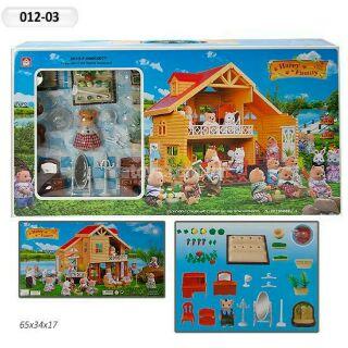 Hộp đồ chơi nhà Thỏ 012-03