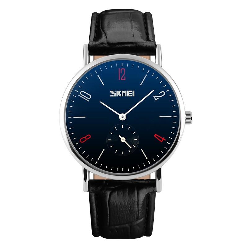 Đồng hồ nam dây da SKMEI mã DHSK9120aaa