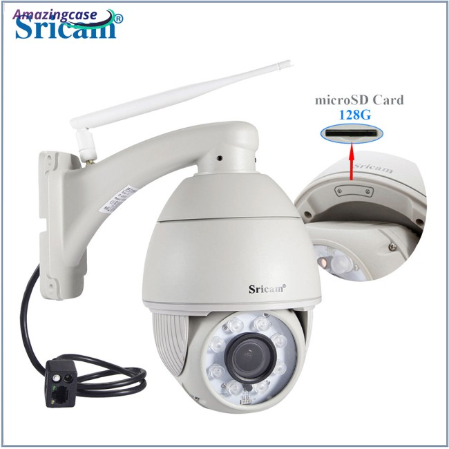Sricam SP008B 720P Wireless WiFi IP Camera IR Night Vision Motion Detection
