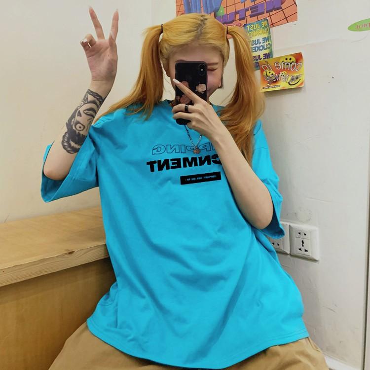 Áo thun tay lỡ unisex Yinxx, áo phông form rộng ATL187