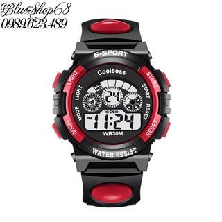 Đồng hồ trẻ em màu đỏ đen giá tốt