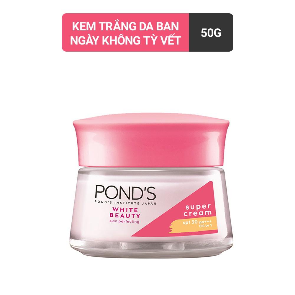 Kem dưỡng da trắng hồng rạng rỡ Pond's White Beauty ban ngà