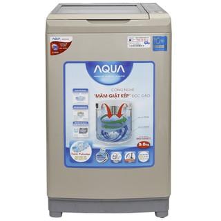 MIỄN PHÍ CÔNG LẮP ĐẶT - DW90AT Máy giặt Aqua Inverter 9 kg AQW-DW90AT