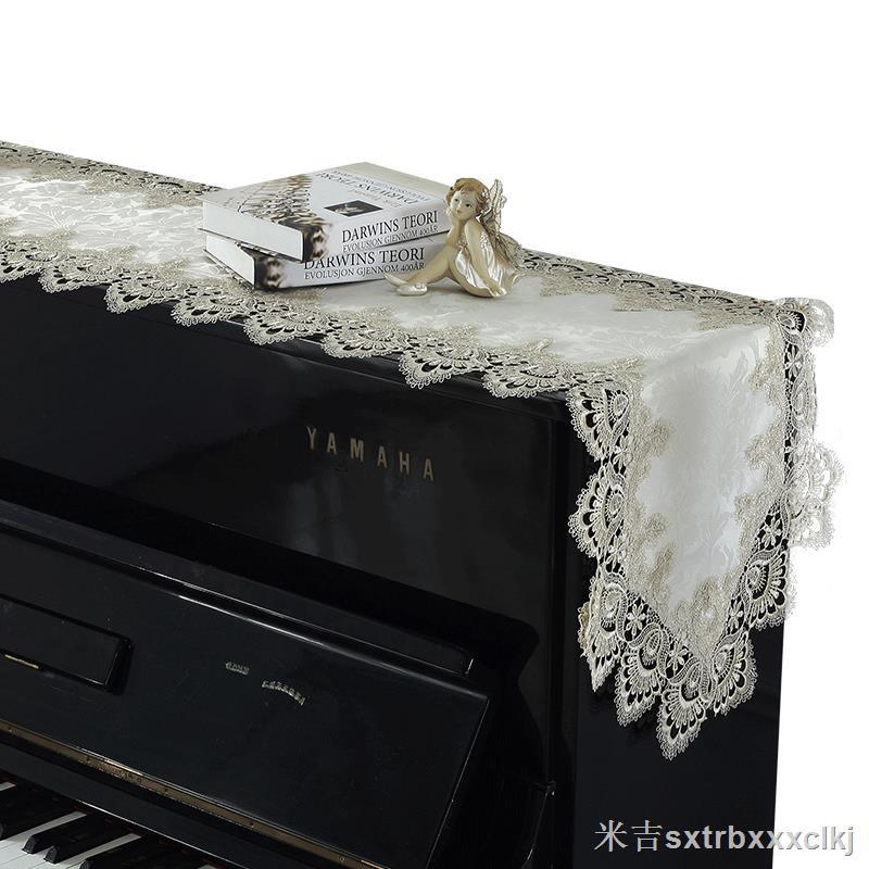 Vỏ Bọc Bàn Phím Piano Chống Bụi Phối Ren Phong Cách Châu Âu