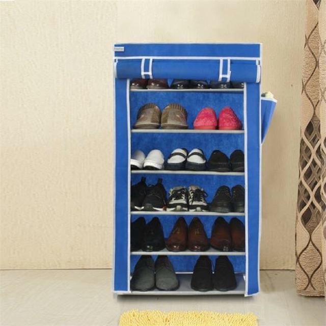 Tủ giày 6 tầng trơn