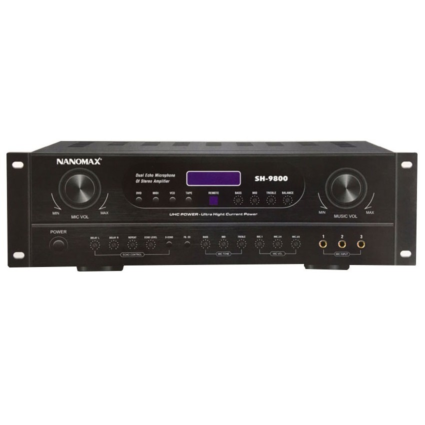 Amply karaoke Nanomax SH-9800