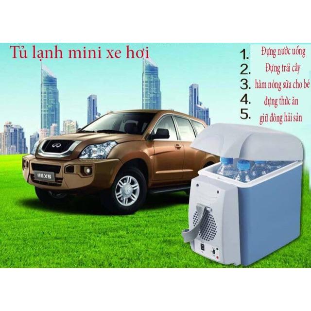 [SALE 10%] Tủ lạnh cho xe hơi 7.5 lít Port Able Electronic , 7L5