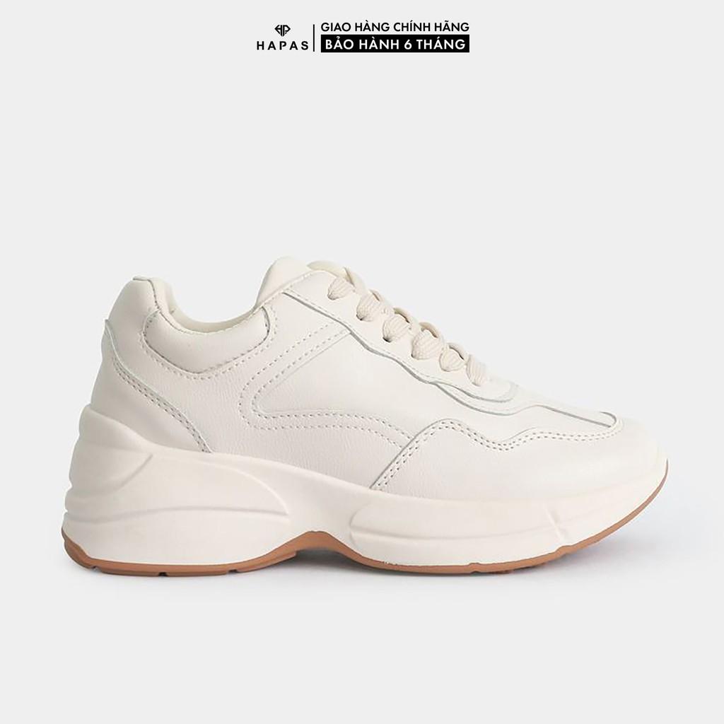 Giày Thể Thao Nữ Sneaker Da Mịn HAPAS GSK21