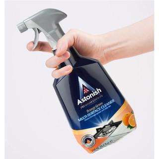 Tẩy dầu mỡ ASTONISH tẩy lưới hút mùi, tẩy bếp gas, bếp từ, xoong chảo cháy C6760_750ml .Sản xuất Tại Anh Quốc 5