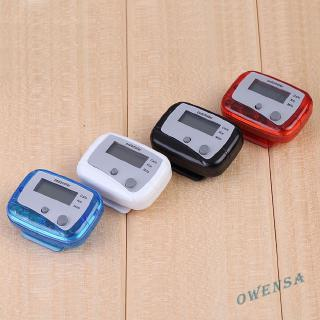 ❉ow✿Multifunction Pedometer Walking Distance Calorie Passometer Counterღ