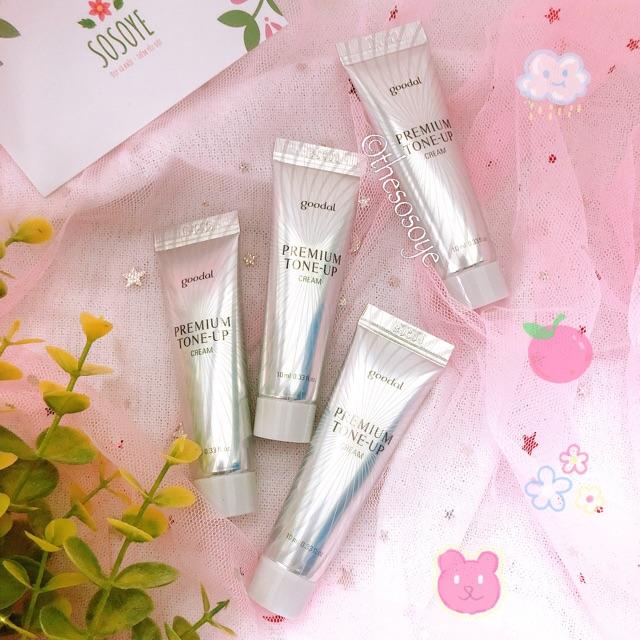 Kem Dưỡng Trắng Da Cao Cấp Ốc Sên Goodal Premium Snail Tone-up Cream