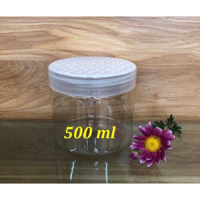 Hũ nhựa pet 500ml-250gr