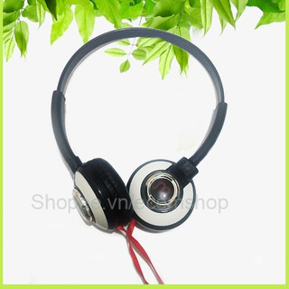 Tai nghe chụp tai M thiết kế có thể xoay chụp tai, kiểu dáng trẻ trung, hiện đại phong cách Hàn Quốc
