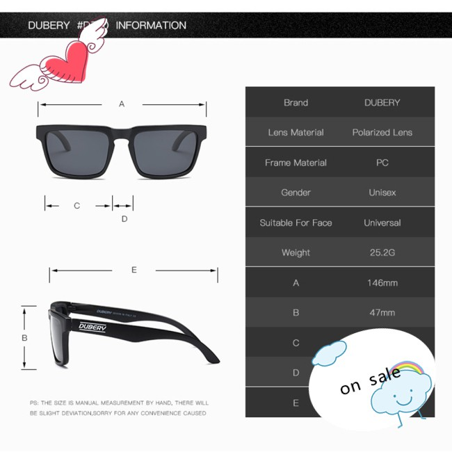 Outdoor Polarized Driving Sunglasses UV400 Ultraviolet-proof Sport Classic Glasses Eyewear