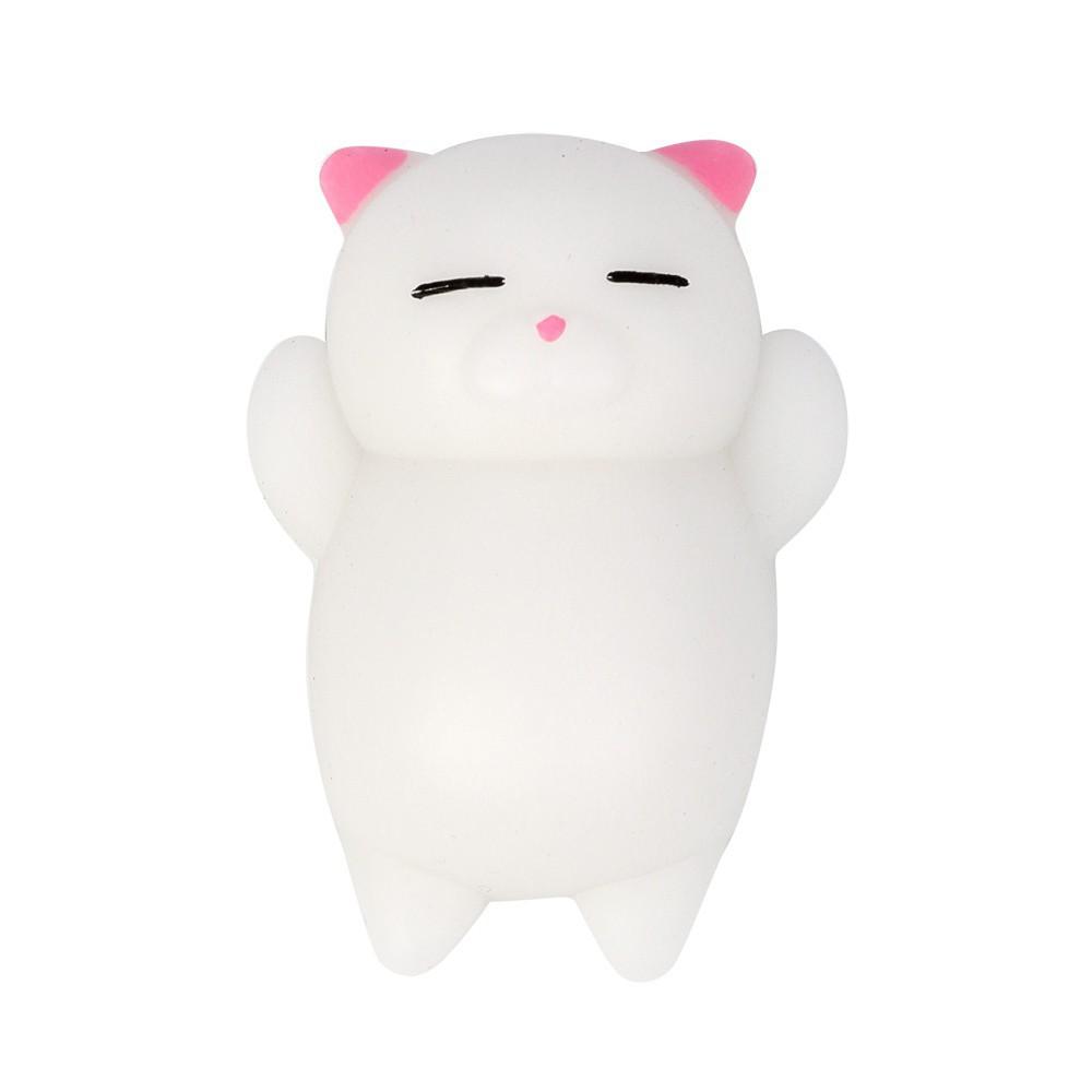 Đồ chơi đàn hồi hình mèo Mochi giúp giảm căng thẳng mã sp EF8897