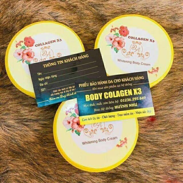 Kem body collagen x3 ( Kèm phiếu bảo hành)