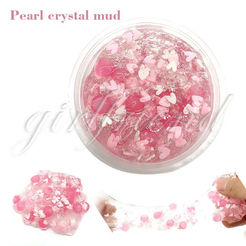 Crystal Mud Transparent Clay Play House Vent Toys Mud