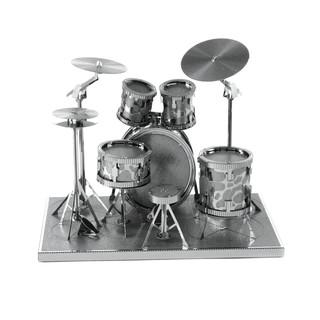 Lắp ghép mô hình 3D kim loại – M20 – Drum Set – Đồ chơi lắp ráp – Mô hình kim loại