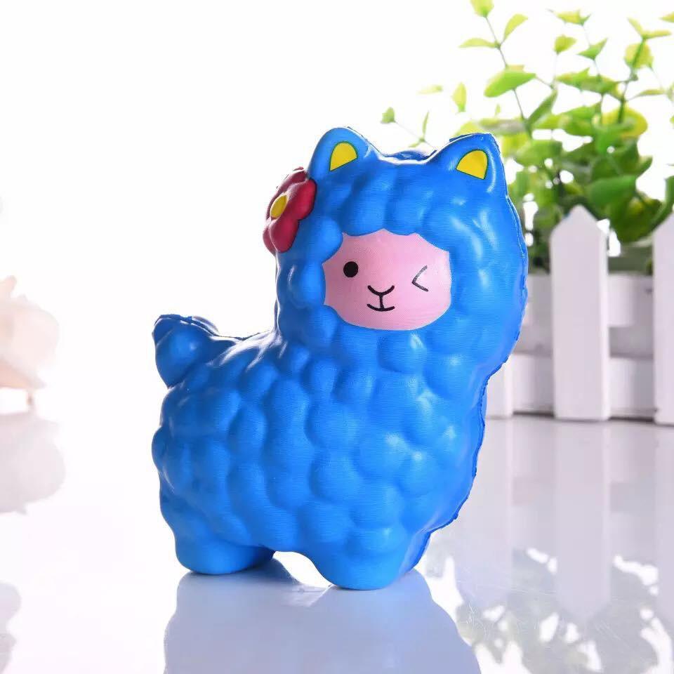 thú cừu xanh squishy bóp dễ thương sku sp XV7707