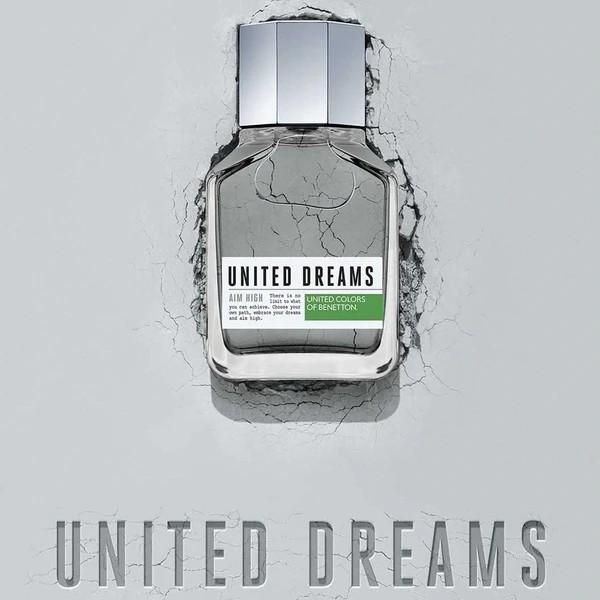 Paris France Beauty - Nước Hoa Nam United Color Of Benetton United Dreams Aim High 100ml