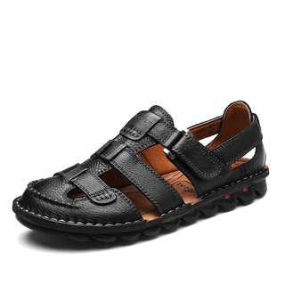 High quality cowhide sandals for men