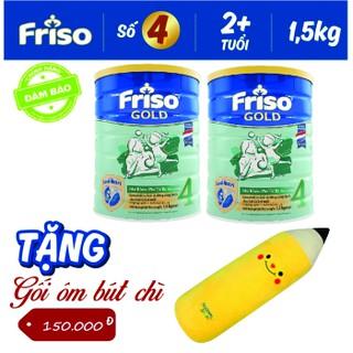 {có quà } combo 2 lon Sữa Friso Gold 4 1,4kg mẫu mới