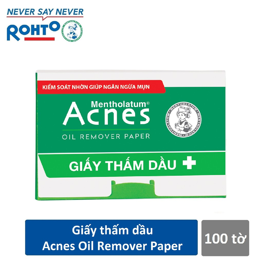 Giấy thấm dầu Acnes Oil Remover Paper (100 tờ) - 3133916 , 964928830 , 322_964928830 , 28000 , Giay-tham-dau-Acnes-Oil-Remover-Paper-100-to-322_964928830 , shopee.vn , Giấy thấm dầu Acnes Oil Remover Paper (100 tờ)