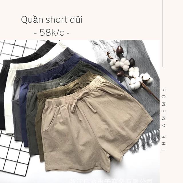 [Gom order] Quần short đũi